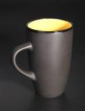 Black mug Stock Photo