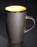 Black mug Royalty Free Stock Photos