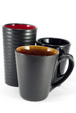 Black Mugs Stock Images