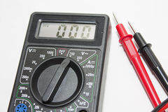 Black multimeter Stock Images