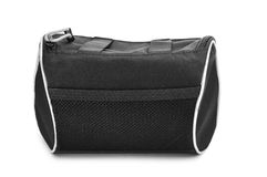 Black multipurpose bag Royalty Free Stock Image