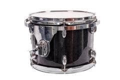 Black music bass drum  on white background Stock Photo