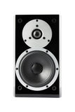 Black music loudspeaker Stock Image
