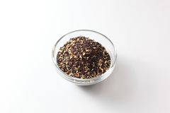Black Mustard Seeds Stock Image