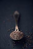 Black Mustard Seeds Royalty Free Stock Image