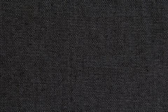 Black natural linen texture for the background Royalty Free Stock Photo