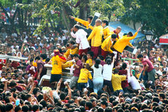 Black nazarene stock image