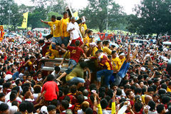 Black nazarene stock images