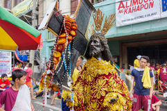 Black Nazarene festival at Quiapo district Royalty Free Stock Images