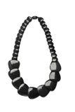 Black necklace Stock Photos