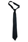 Black necktie Royalty Free Stock Image