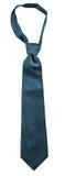 Black necktie isolated Royalty Free Stock Photos