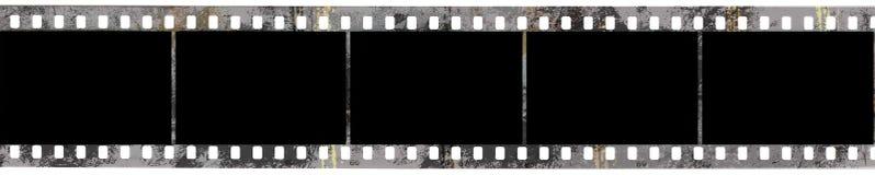 Black negative film. In grunge style Stock Photo