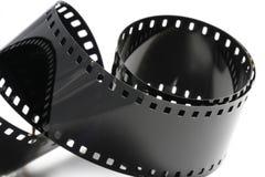 Black negative film strip Stock Photography