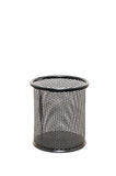 Black netted pen container Stock Photography