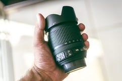 Black Nikon Camera Lens Royalty Free Stock Photos