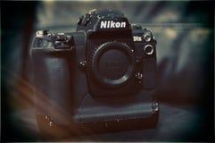 Black Nikon Dslr Camera Body Royalty Free Stock Image