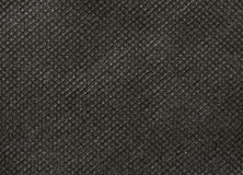 Black nonwoven fabric texture Stock Images