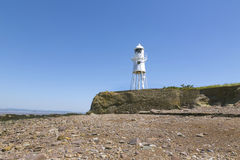 Black Nore lighthouse,Somerset Royalty Free Stock Images
