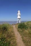 Black Nore lighthouse in Somerset Royalty Free Stock Images