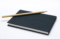 The black note book Stock Photography