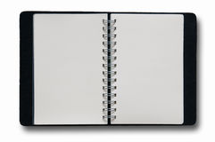Black Note Book  Stock Photography