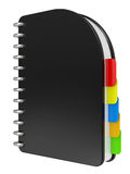Black notebook Royalty Free Stock Images