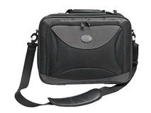 Black notebook bag Stock Photography