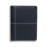 Black notebook Stock Photos