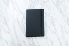Black notebook Stock Image