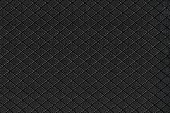 Black Nylon Fabric Background Texture, Large Detailed Textured Horizontal Macro Closeup Pattern, Textile Copy Space Stock Photo