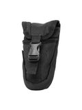Black nylon holster style pouch Stock Image