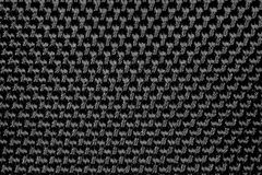 Black Nylon Material Royalty Free Stock Image