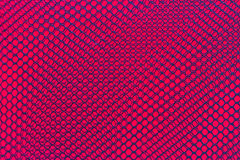 Black nylon net on red  background Royalty Free Stock Image