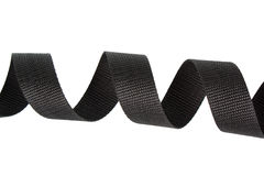Black nylon strap Stock Photo