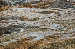 Black Obsidian Sand and Other Textures Stock Images