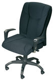 Black office armchair Stock Image