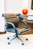 Black office armchair Royalty Free Stock Photo