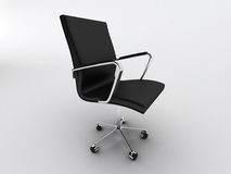 Black office chair Royalty Free Stock Photo