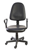 Black office chair Royalty Free Stock Image
