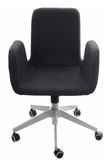 Black Office Chair Royalty Free Stock Photography