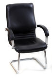 Office chair on white background Royalty Free Stock Photo