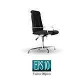 Black office chair Stock Image