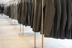 Black office jackets Royalty Free Stock Photography