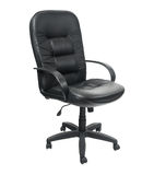 Black office spinning chair Royalty Free Stock Photo