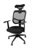 Black office spinning chair Royalty Free Stock Image