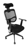 Black office spinning chair Stock Photography