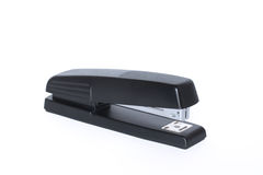 Black office stapler isolated Royalty Free Stock Photography
