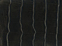 Black old leather textures Royalty Free Stock Photos