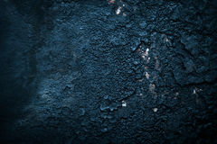 Black old metal background. The surface of the pan. Toned Stock Images
